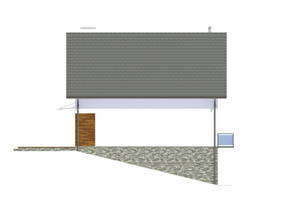 Projekt domu L-6767 - elewacja