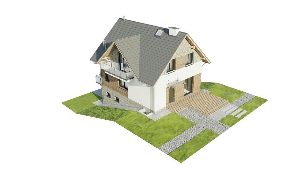 Projekt domu L-6767 - model
