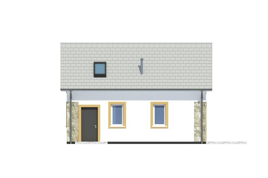 Projekt domu L-6773 - elewacja