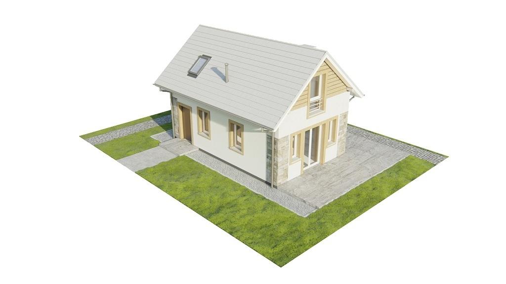 Projekt domu L-6773 - model
