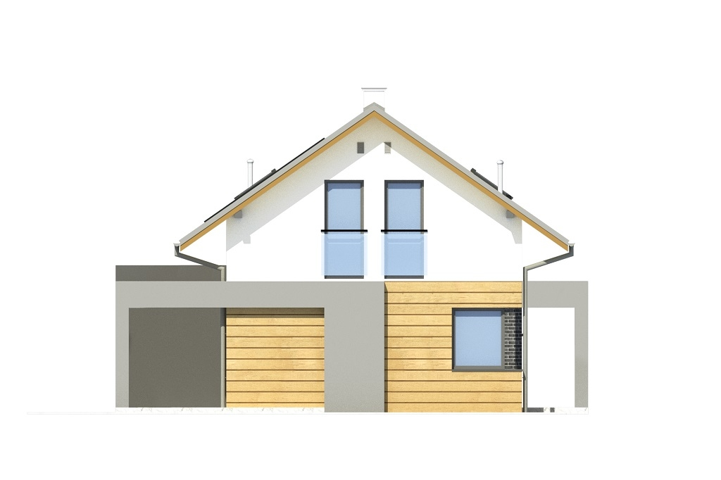 Projekt domu DM-6786 - elewacja