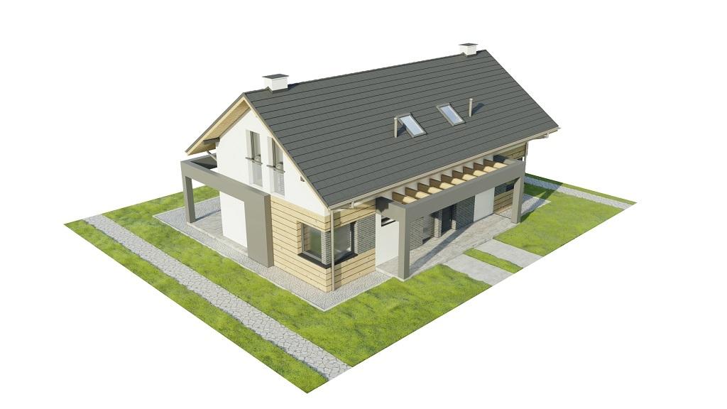 Projekt domu DM-6786 - model