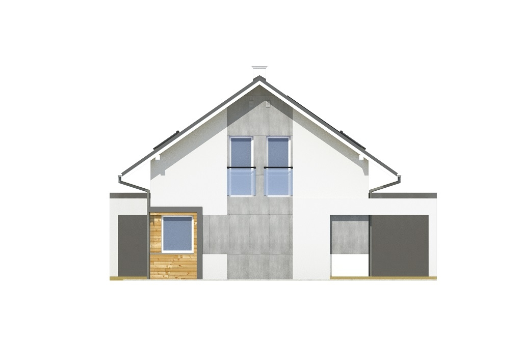 Projekt domu DM-6787 - elewacja