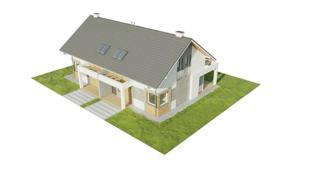 Projekt domu DM-6787 - model