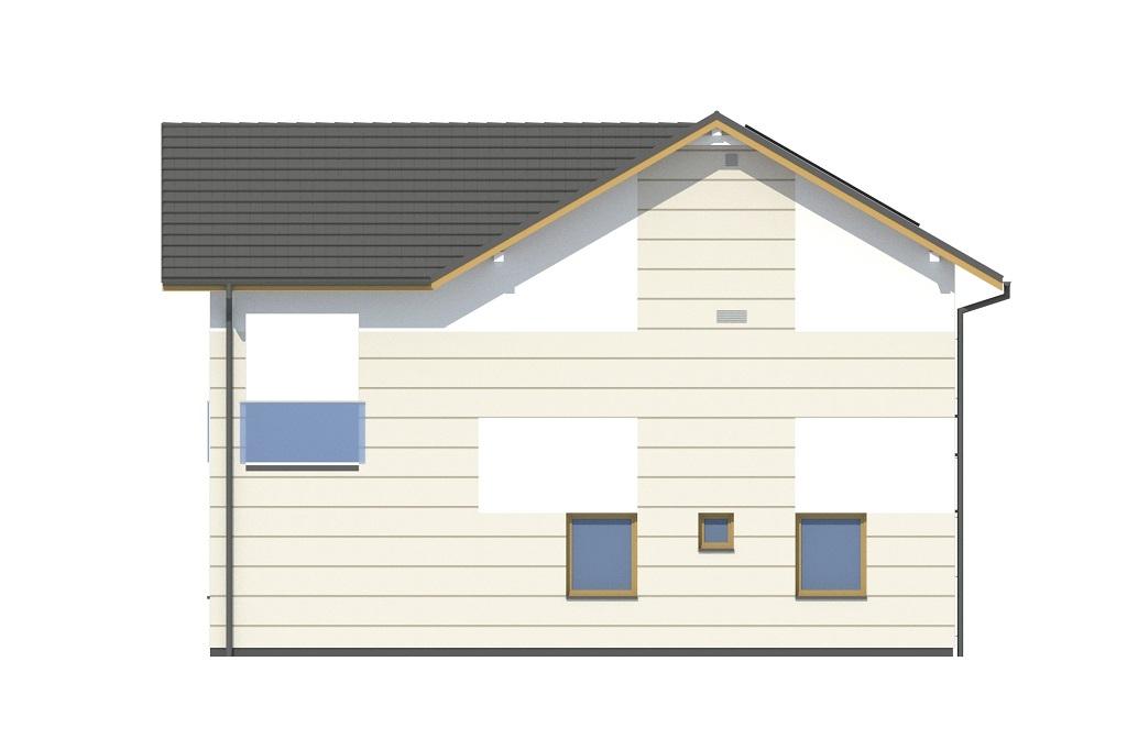 Projekt domu DM-6799 - elewacja