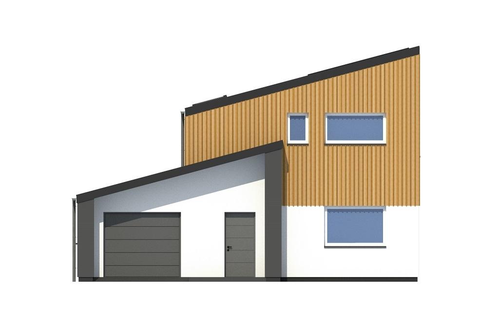 Projekt domu DM-6803 - elewacja