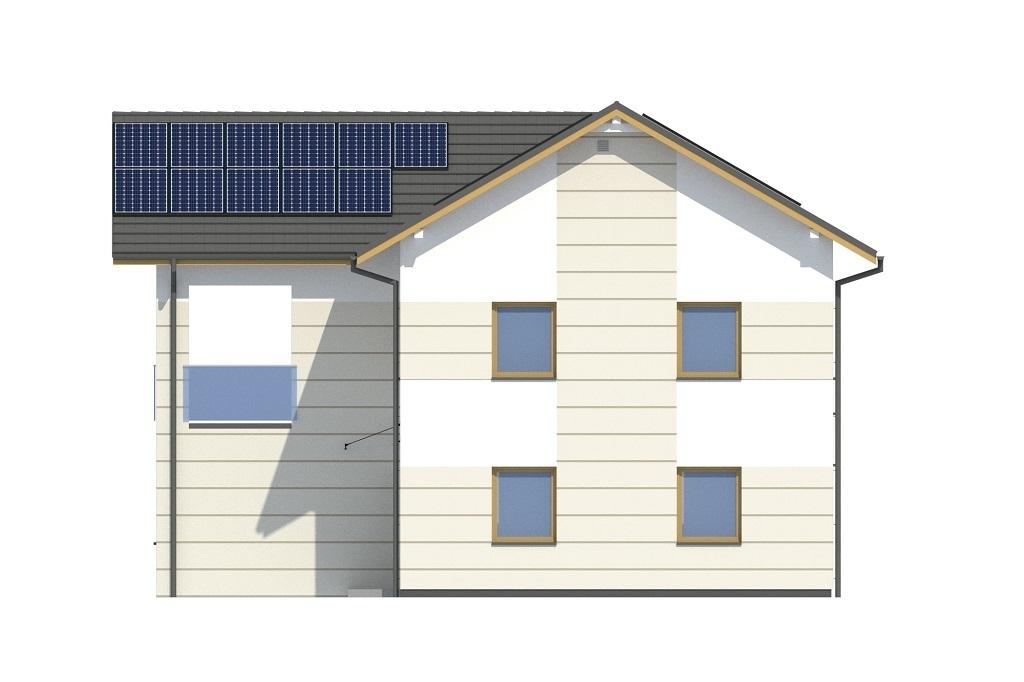 Projekt domu L-6799 - elewacja