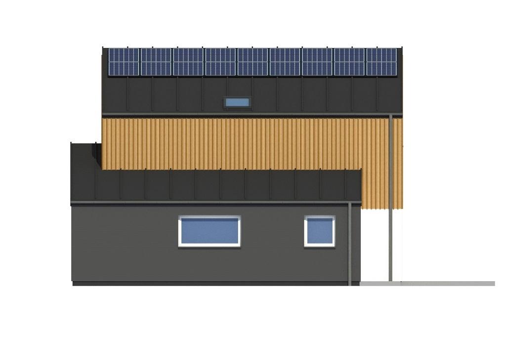 Projekt domu L-6803 - elewacja