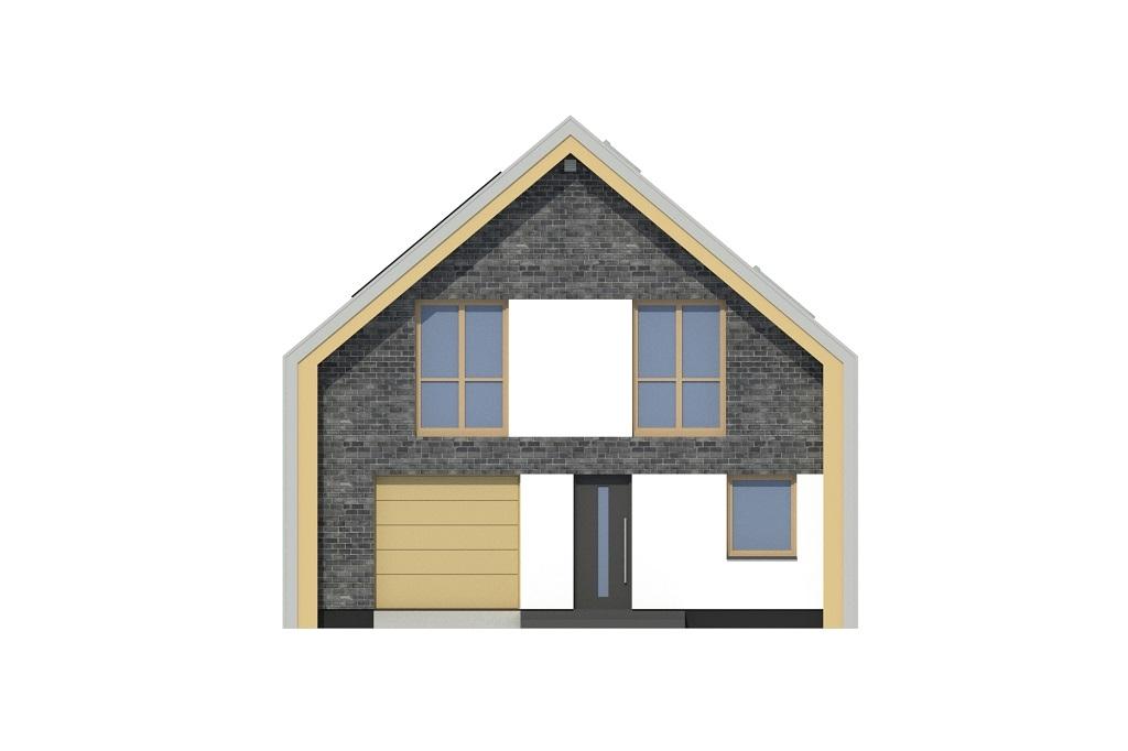 Projekt domu DM-6807 - elewacja