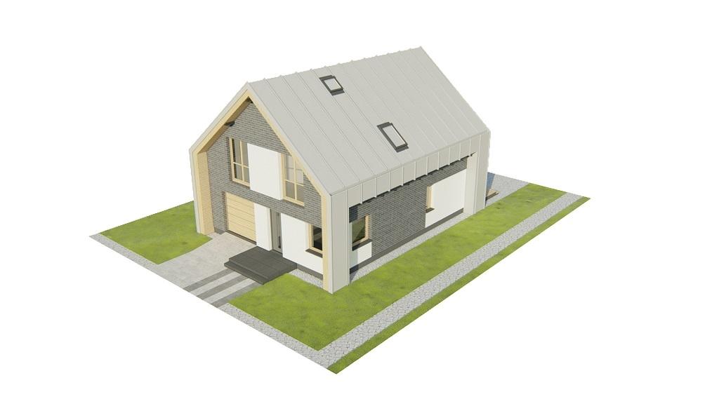 Projekt domu DM-6807 - model