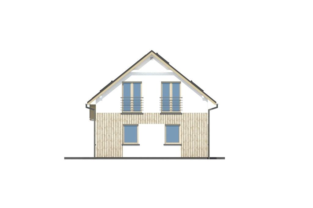 Projekt domu DM-6813 - elewacja