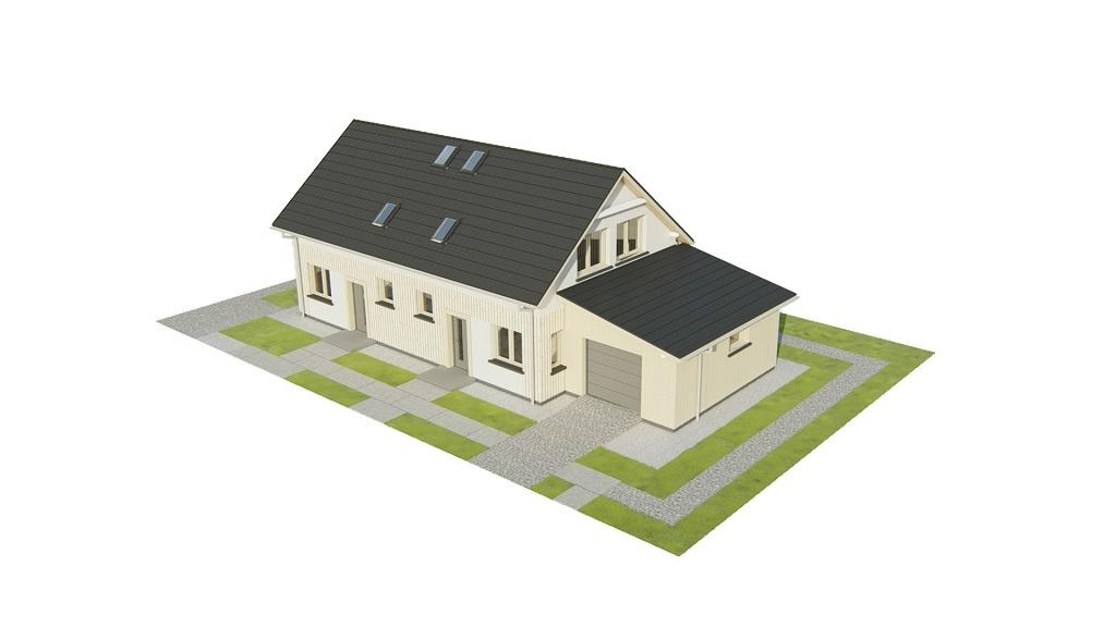 Projekt domu DM-6813 - model