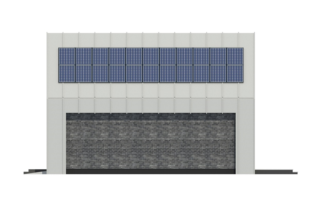 Projekt domu L-6807 - elewacja