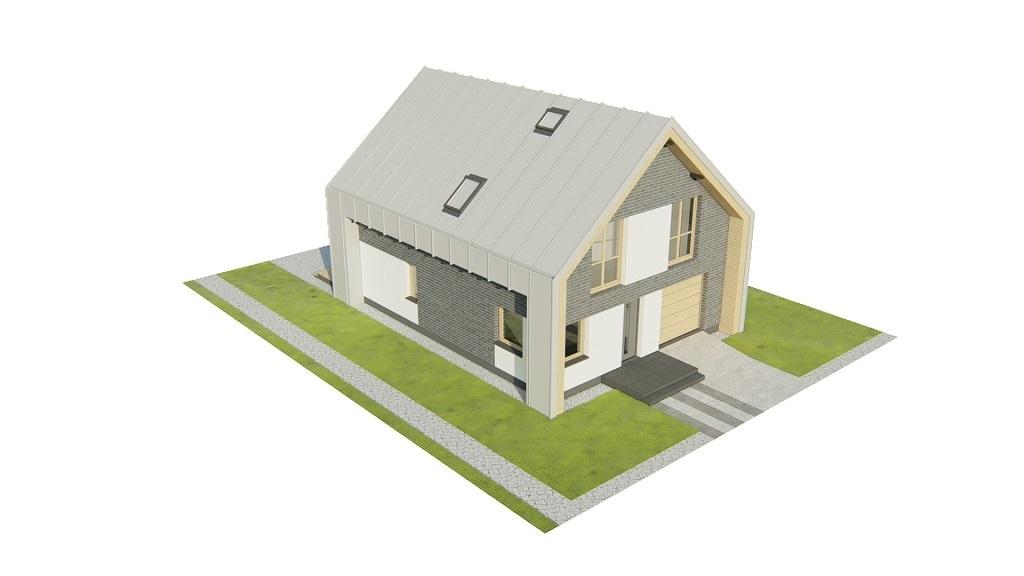 Projekt domu L-6807 - model