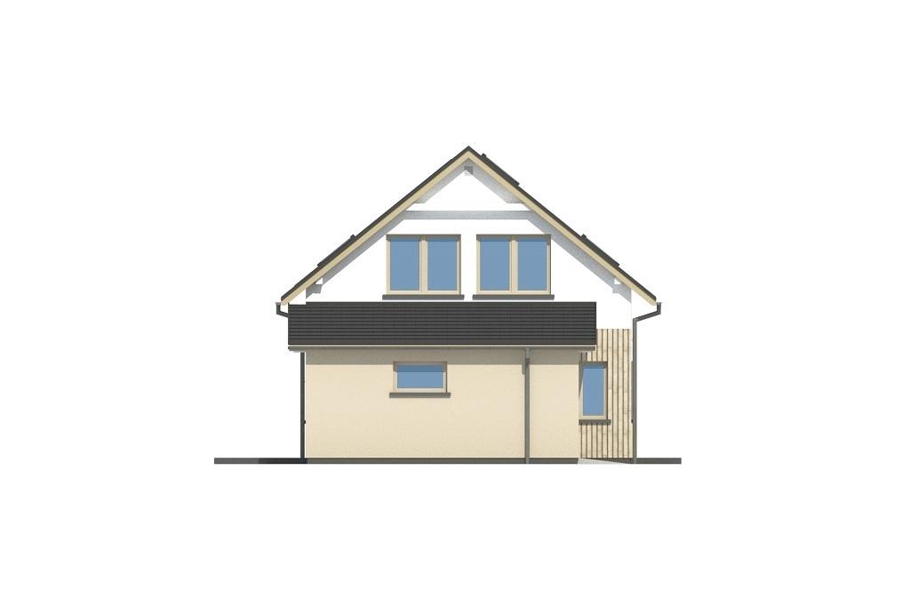 Projekt domu L-6813 - elewacja