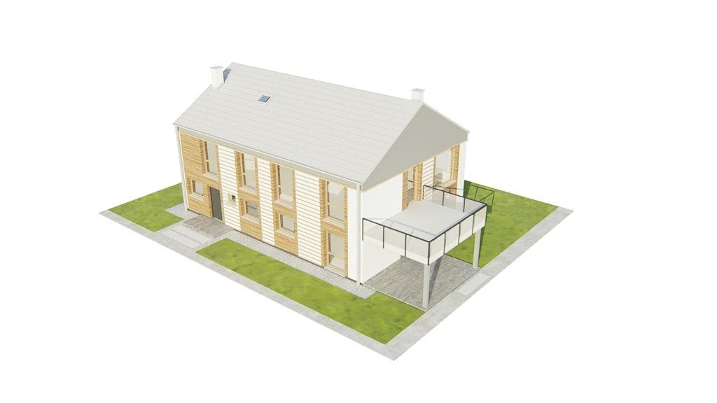 Projekt domu DM-6808 - model