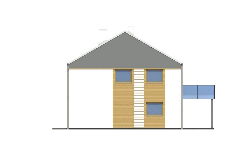 Projekt domu L-6808 - elewacja