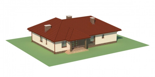 Projekt domu L-5556 - model