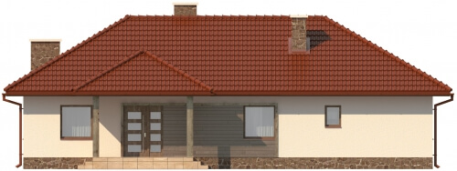 Projekt domu L-5556 - elewacja