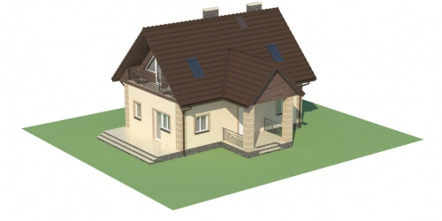 Projekt domu L-5570 - model