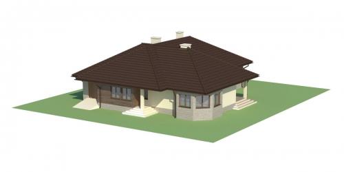Projekt domu L-5572 - model