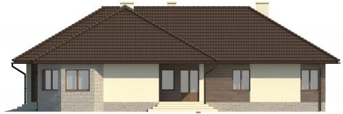 Projekt domu L-5572 - elewacja