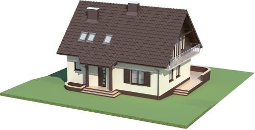 Projekt domu L-5573 - model