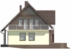 Projekt domu L-5573 - elewacja