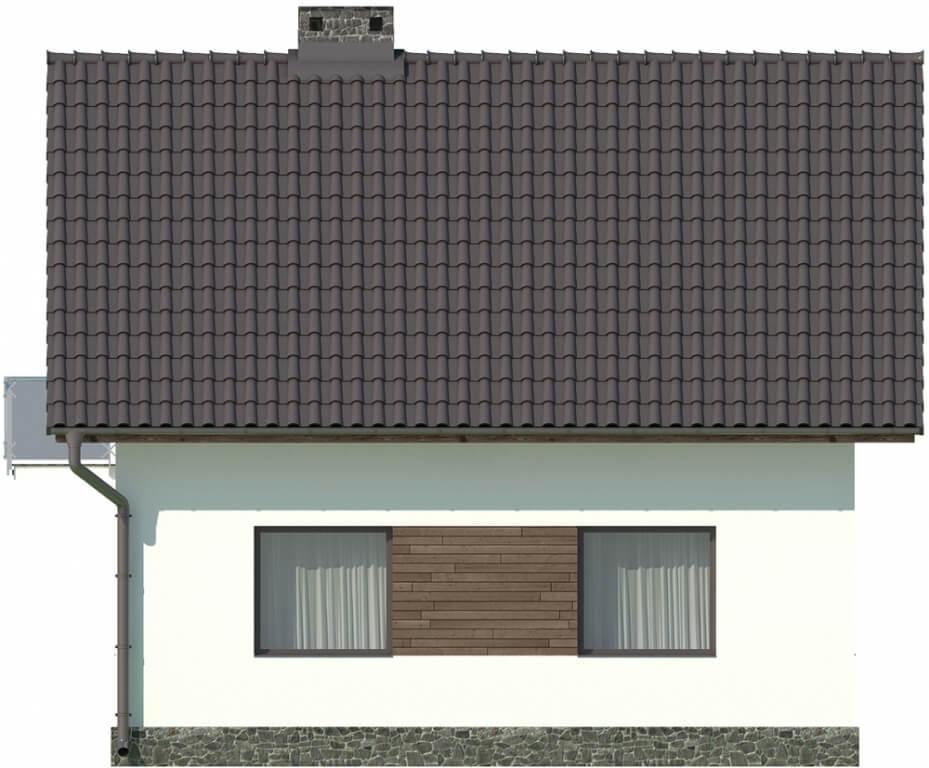 Projekt domu L-5582 - elewacja