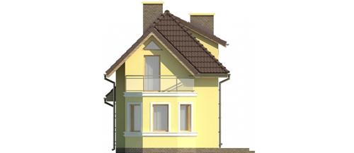 Projekt domu L-5588 - elewacja