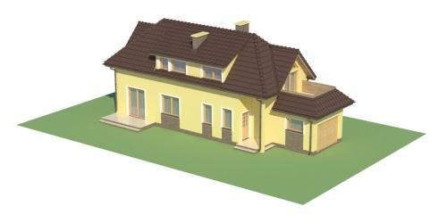 Projekt domu L-5588 - model