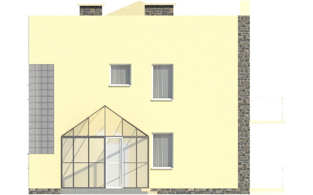 Projekt domu L-5591 - elewacja