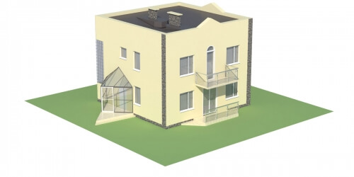 Projekt domu L-5591 - model