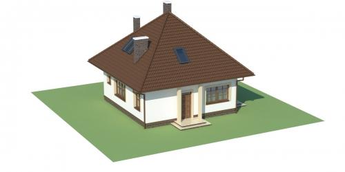 Projekt domu L-5597 - model