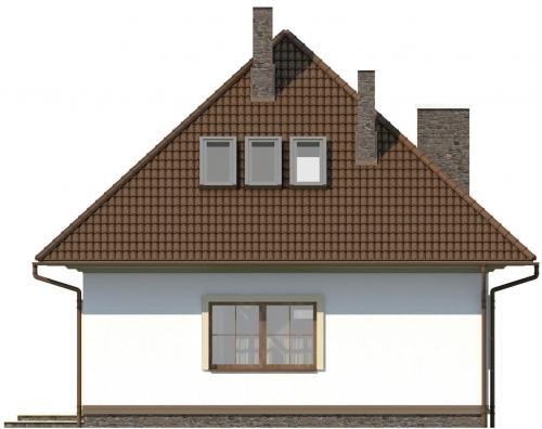Projekt domu L-5597 - elewacja