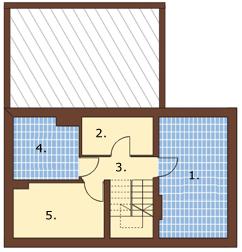 Projekt domu L-6004 - rzut