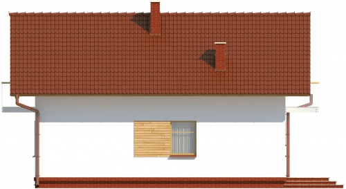 Projekt domu L-6004 - elewacja
