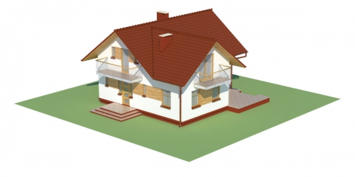 Projekt domu L-6004 - model