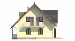 Projekt domu L-6006 - elewacja