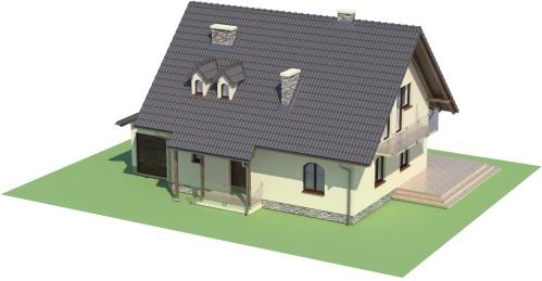 Projekt domu L-6006 - model
