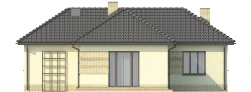 Projekt domu L-6018 - elewacja