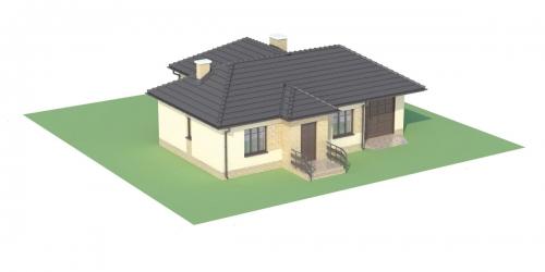 Projekt domu L-6018 - model