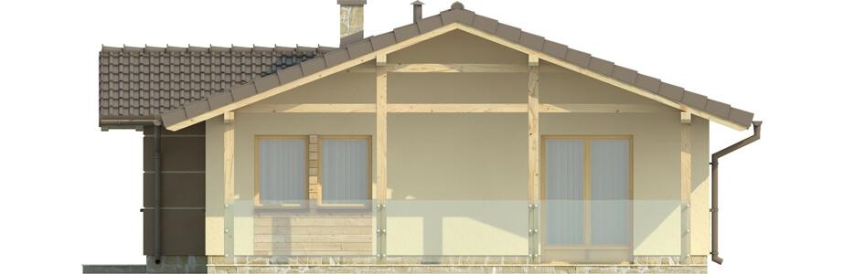 Projekt domu L-6033 - elewacja