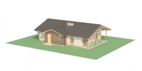 Projekt domu L-6033 - model
