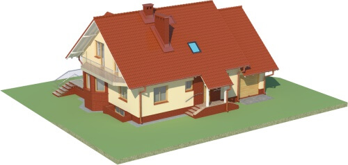Projekt domu L-6040 - model