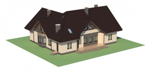 Projekt domu L-6044 - model