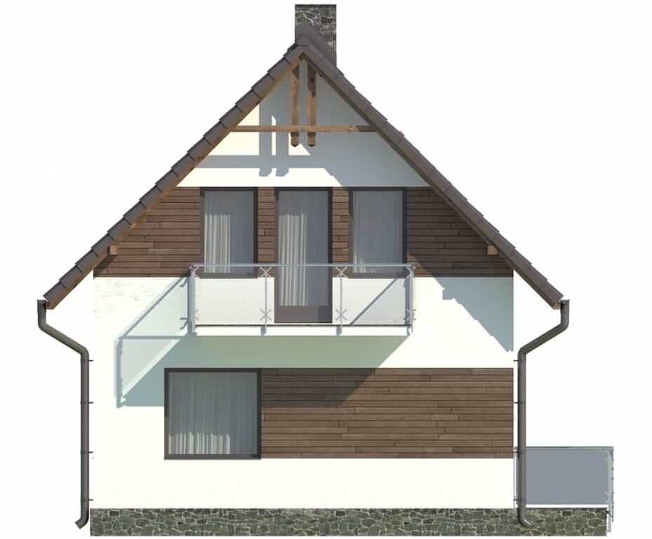 Projekt domu DM-5582 - elewacja