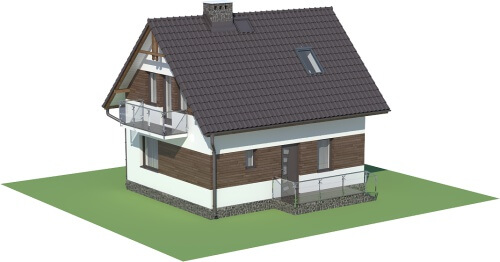 Projekt domu DM-5582 - model