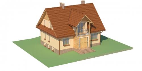 Projekt domu L-6051 - model