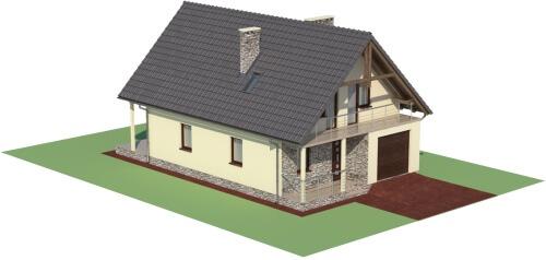 Projekt domu L-6055 - model